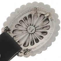 Hammered Silver Concho Belt 24238