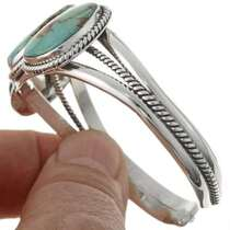 Genuine Turquoise Cuff Bracelet 27432
