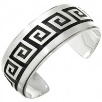 Overlaid Silver Native American Cuff 10559