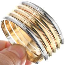 Silver Gold Southwest Bracelet 17795