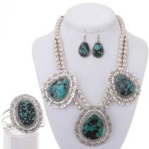 Necklace Bracelet Earrings Set 25370