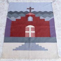 Pueblo Church Pattern Rug 25071