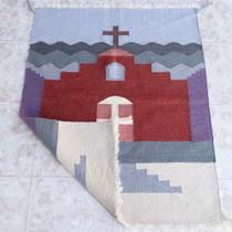 Navajo Inspired Vintage Woven Rug 25071