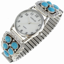 Turquoise Mens Watch Bracelet 23111