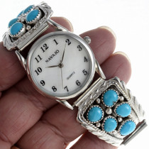 Navajo Turquoise Watch 23111