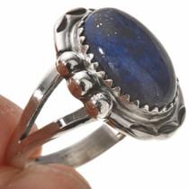 Dark Blue Lapis Ladies Ring 28748