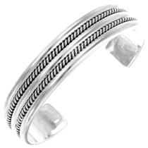 Navajo Sterling Silver Bracelet 27787