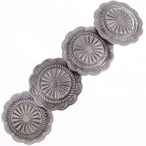 Sterling Concho Barrette 24460