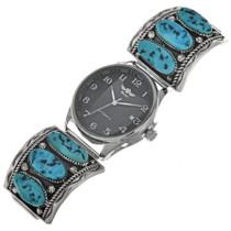Vintage Sleeping Beauty Turquoise Mens Watch 29634