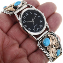 Turquoise Mens Watch Bracelet 24437