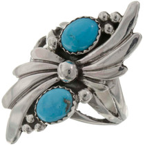 Natural Turquoise Ladies Ring 26211