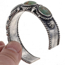 Turquoise Silver Bracelet 24859
