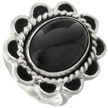 Black Onyx Ladies Ring 28614