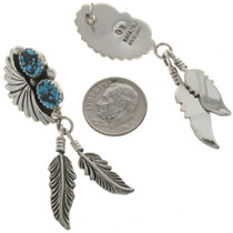 Native American Feather Earrings 26933