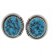 Turquoise Nugget Stud Earrings 27416
