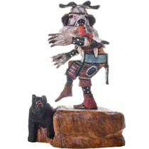 White Bear Kachina Doll 20696
