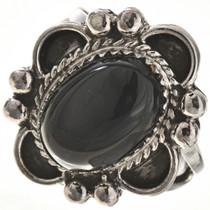 Black Onyx Ladies Ring 28685