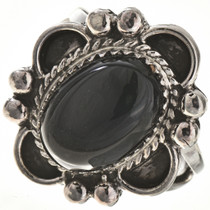 Black Onyx Ladies Ring 28685