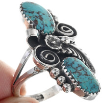 Navajo Turquoise Ladies Ring 24362