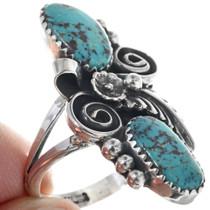 Navajo Turquoise Ladies Ring 24362