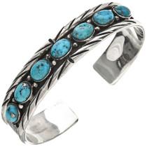 Turquoise Sterling Navajo Bracelet 23238