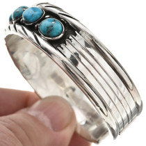 Ladies Native American Silver Cuff 23238