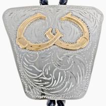 Gold Horseshoe Bolo Tie 24559