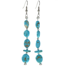 Turquoise French Hook Earrings 29030