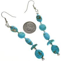 Kingman Turquoise Earrings 29030