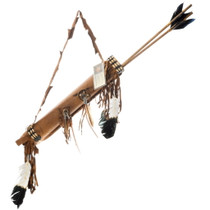Plains Indian Quiver Arrows Set 25619
