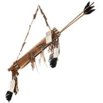 Plains Indian Quiver Arrows Set 25619