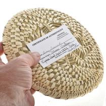 Indian Handmade Plate Basket 22881