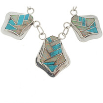Opal Turquoise Southwest Necklace 15184