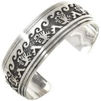 Overlaid Silver Symbols Bracelet 26821