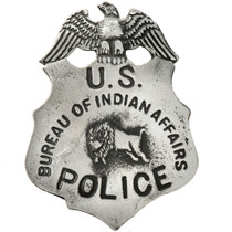 US Bureau of Indian Affairs Police Badge 29185
