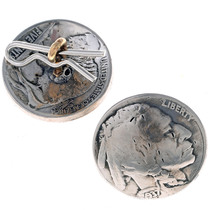 Indian Head Nickel Button 24608