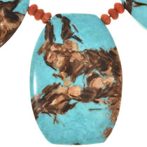 Infused Bronzeite Necklace  28771