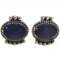 Lapis Lazuli Stud Earrings 28838