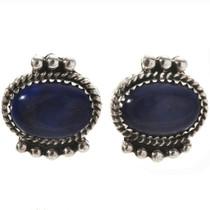 Lapis Lazuli Stud Earrings 28838