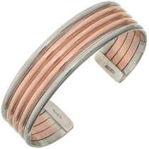 Copper Silver Bracelet 31756