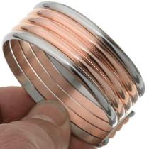 Navajo Copper Silver Cuff 31756