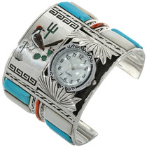 Old Pawn Roadrunner Watch Cuff 28316