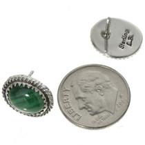 Twist Wire Silver Gemstone Earrings 28440