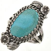 Navajo Sleeping Beauty Turquoise Ring 27811