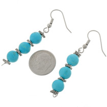 Navajo Turquoise Earrings 24035