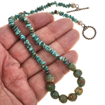 Southwest Turquose Choker Necklace 29464