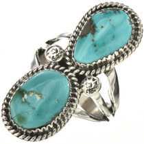 Genuine Royston Turquoise Ladies Ring 28565