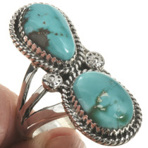 Navajo Arizona Turquoise Ring 28565