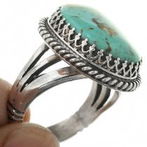 Number Eight Turquoise Ladies Ring 27807