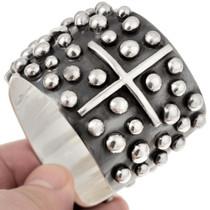 Navajo Cross Handmade Bracelet 23476